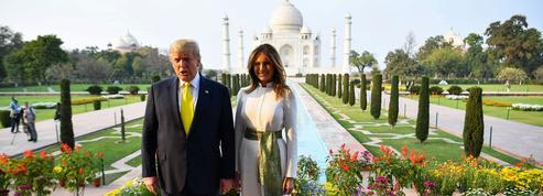 En images, le voyage haut en couleurs de la famille Trump en Inde