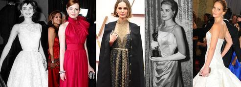 Les plus belles robes des Oscars à travers l'histoire de Audrey Hepburn à Natalie Portman
