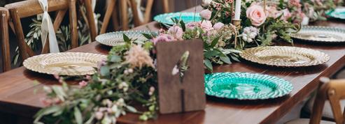 Mariage : les nouvelles inspirations pour une déco de table réussie