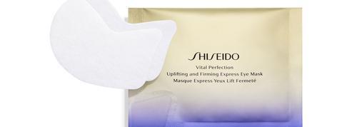 Le Masque Express Yeux Lift Fermeté Gamme Vital Perfection de Shiseido. L'allié du regard