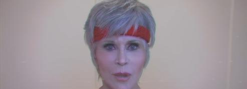 En vidéo, Jane Fonda appelle à voter en guêtres et justaucorps