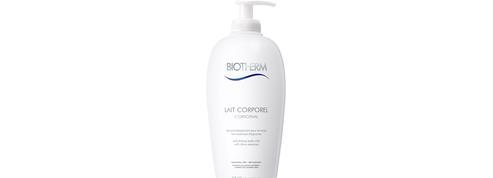 Lait Corporel L'Original de Biotherm. La pompe à délice