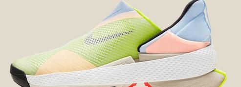 Nike lance une basket qui s'enfile sans les mains
