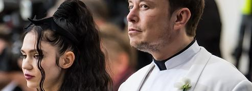 Elon Musk et Grimes, un couple énigmatique en apesanteur