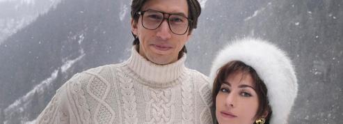 L'allure folle de Lady Gaga et Adam Driver dans la peau des Gucci à la neige