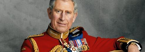 Le prince Charles et son père :