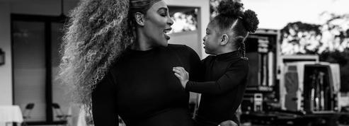 La campagne vivifiante avec Serena Williams et sa fille de 3 ans en combis moulantes