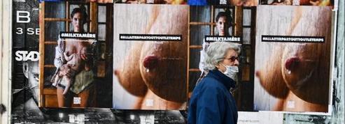 Des tétons et des femmes allaitantes affichés dans Paris pour contrer une censure d'Instagram