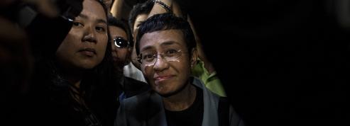Maria Ressa, prix Nobel de la paix :