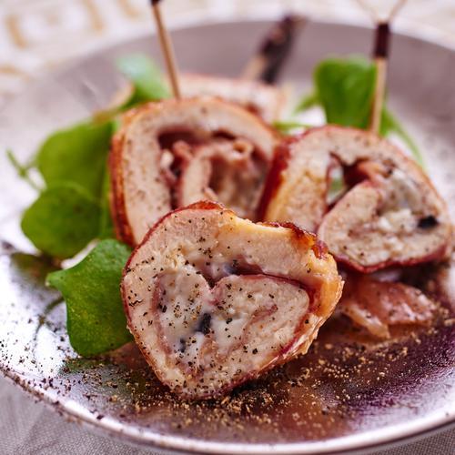 Saltimbocca jambon cru et brie à la truffe