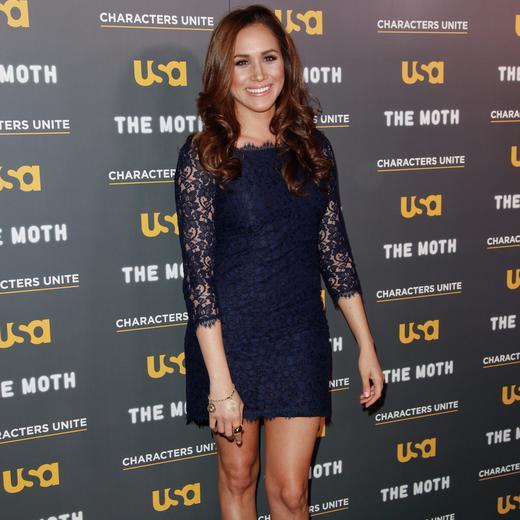 d0137ad3274 Meghan Markle   une Kate Middleton à l américaine - Robe en dentelle