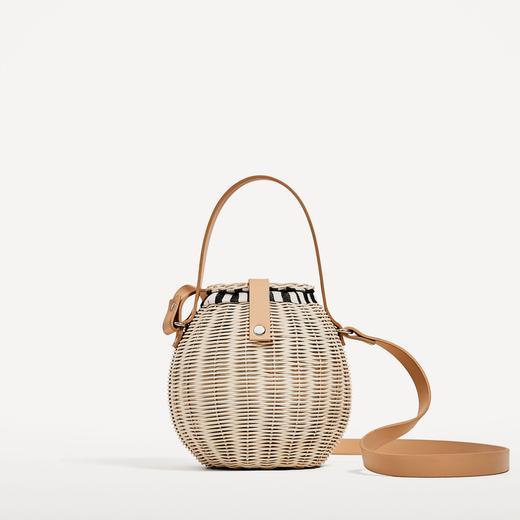 style de mode acheter authentique esthétique de luxe Pour l'été 2017, le panier en osier se refait une beauté ...