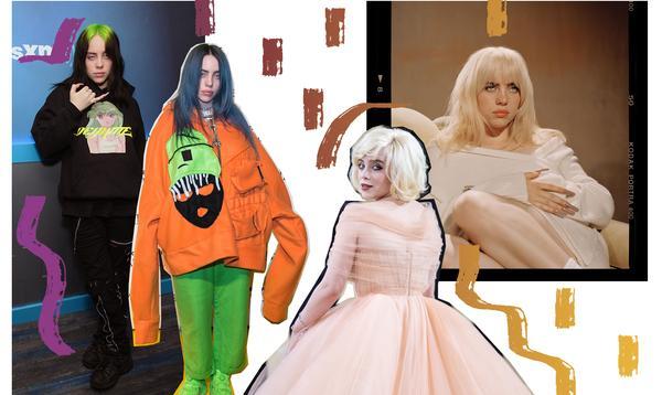 Billie Eilish, de l'ado punk à la pin-up glamour