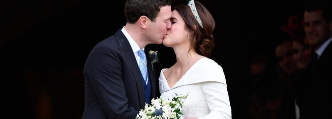 Les photos du glorieux mariage de la princesse Eugenie et de Jack Brooksbank