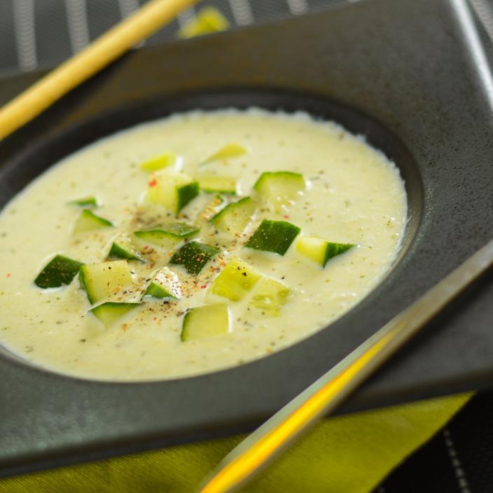 cranc de cogombre sopa