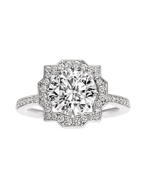 bague diamant fiancaille cartier