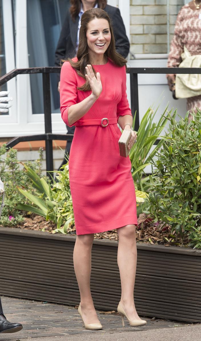 Kate Middleton, icono de la moda real