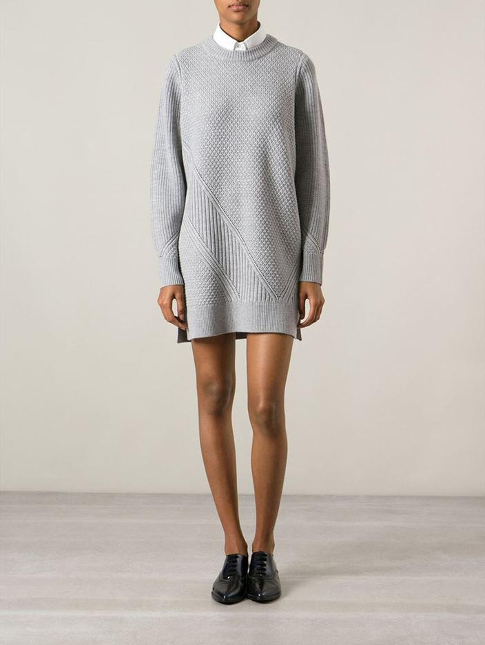 d48e1f160 Comment porter la robe-pull ? - Madame Figaro