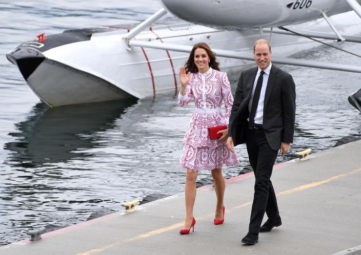 Kate Middleton, ícone da moda real - Alexander McQueen dress