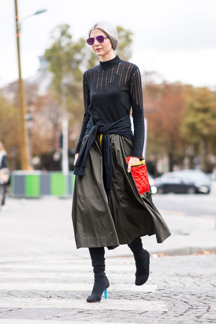 Bottes : comment les associer à une jupe ? Madame Figaro