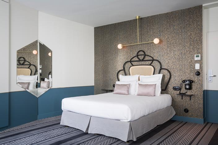 deco chambre tete de lit. Black Bedroom Furniture Sets. Home Design Ideas
