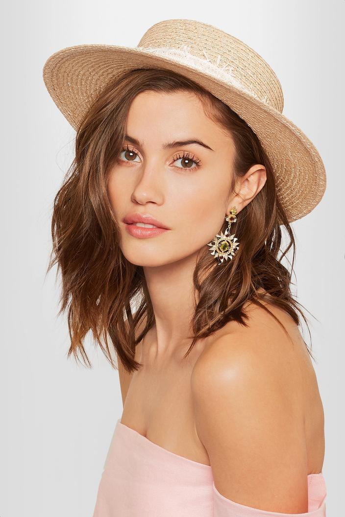 plus de photos nouvelle arrivée techniques modernes Le chapeau de paille, la nouvelle couronne de fleurs pour ...