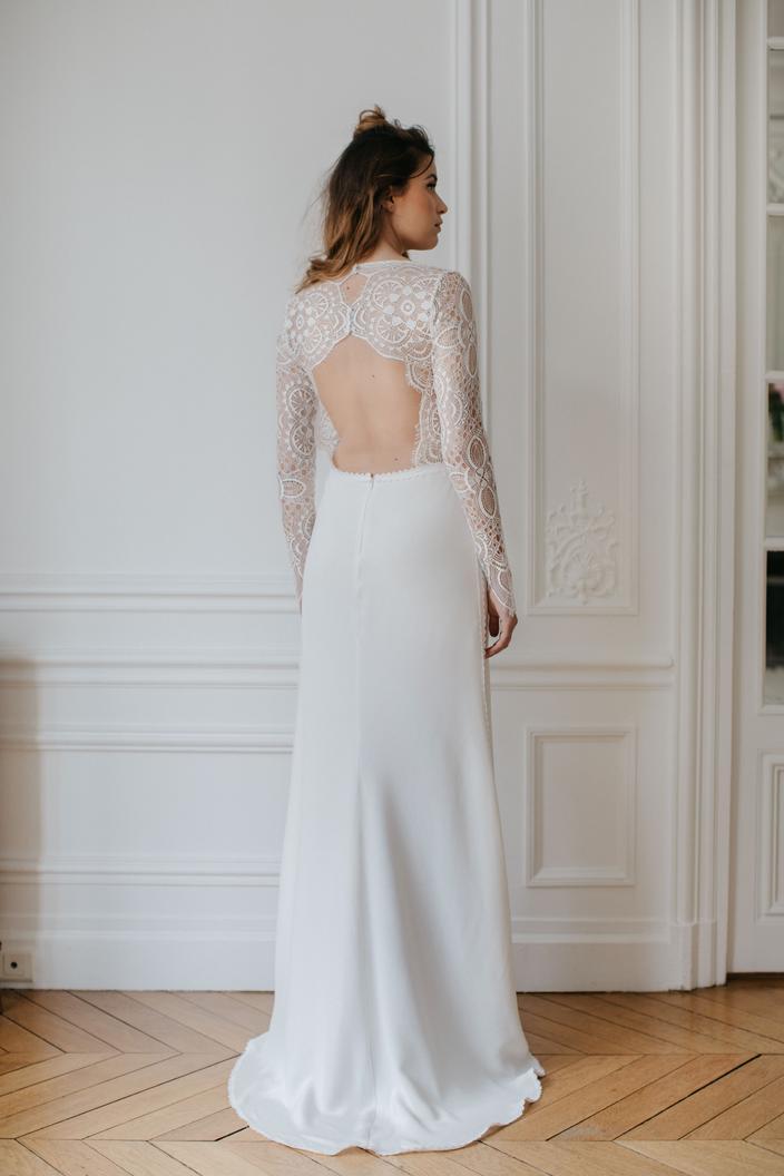 Le Dos Nu Latout Séduction Des Robes De Mariée Madame Figaro