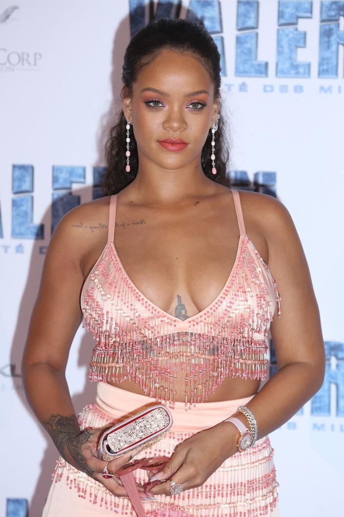 Estas presuntas estrelas embarazadas - Rihanna