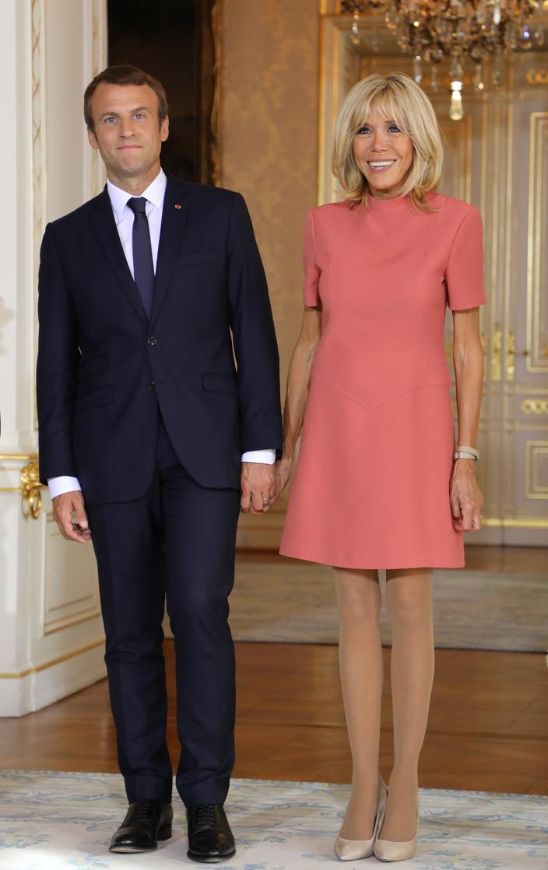 Brigitte Et Emmanuel Macron 10 Ans De Mariage De L Ombre A La Lumiere Madame Figaro