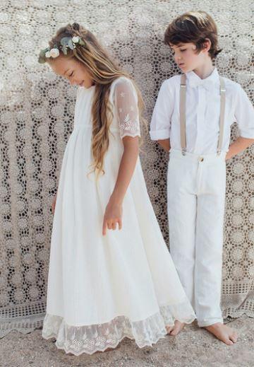 Mariage Des Tenues De Cortege Pour Parfaits Enfants D Honneur Madame Figaro