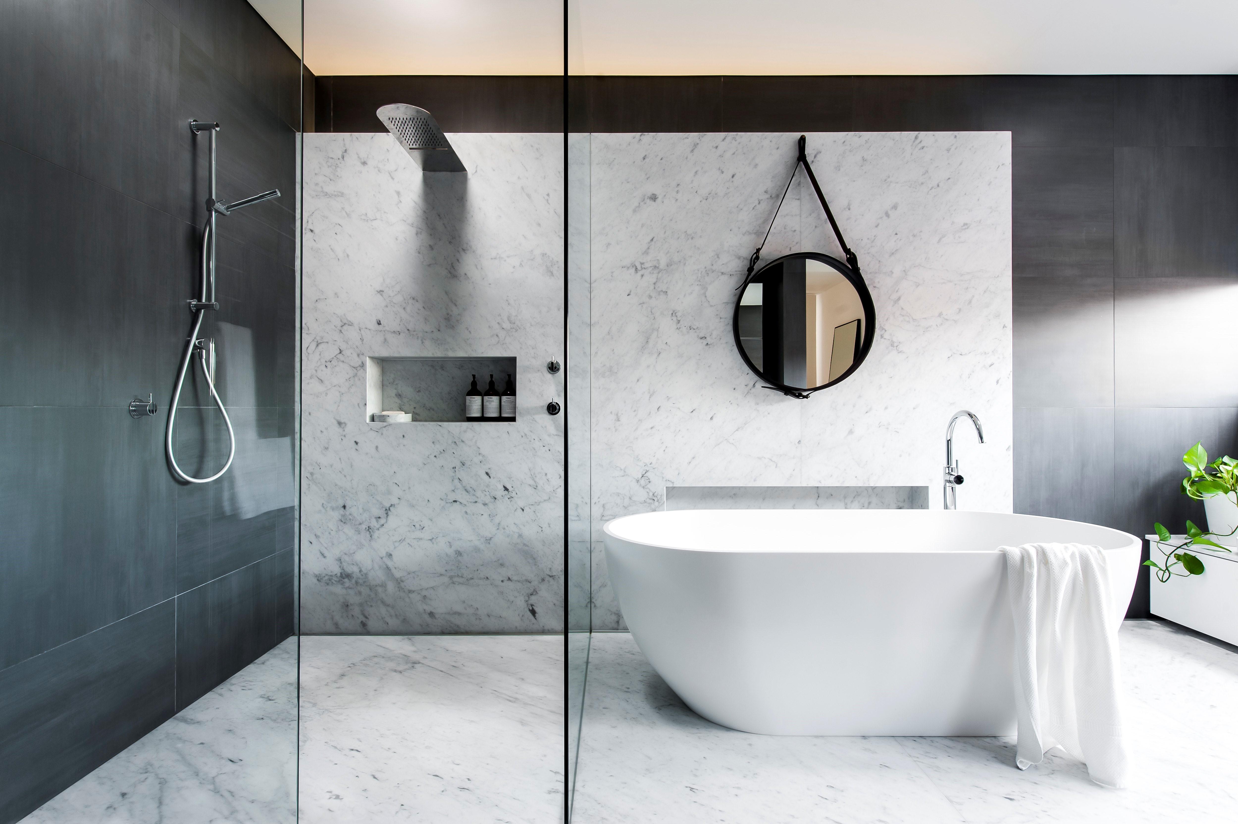Image Salle De Bain luxe et bien-être dans une salle de bain parentale - madame