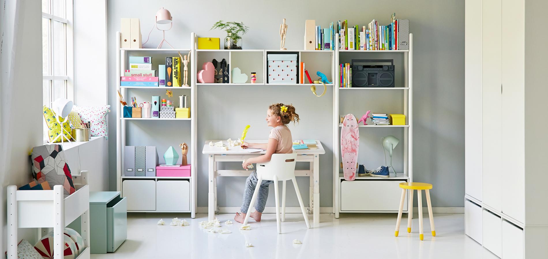 Etagere Pour Chambre Enfant sept conseils pour que la chambre des enfants reste rangée