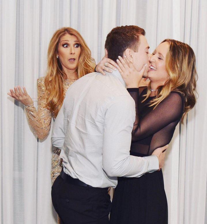 Céline Dion assiste émue à la demande en mariage d\u0027une fan