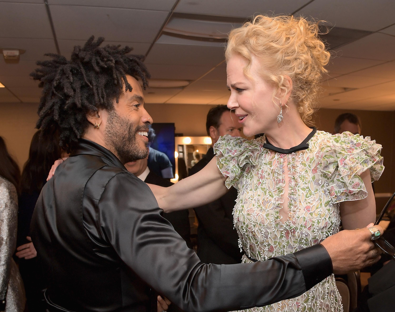 Nicole Kidman et Lenny Kravitz ont été fiancés dans les années 2000 - Madame Figaro