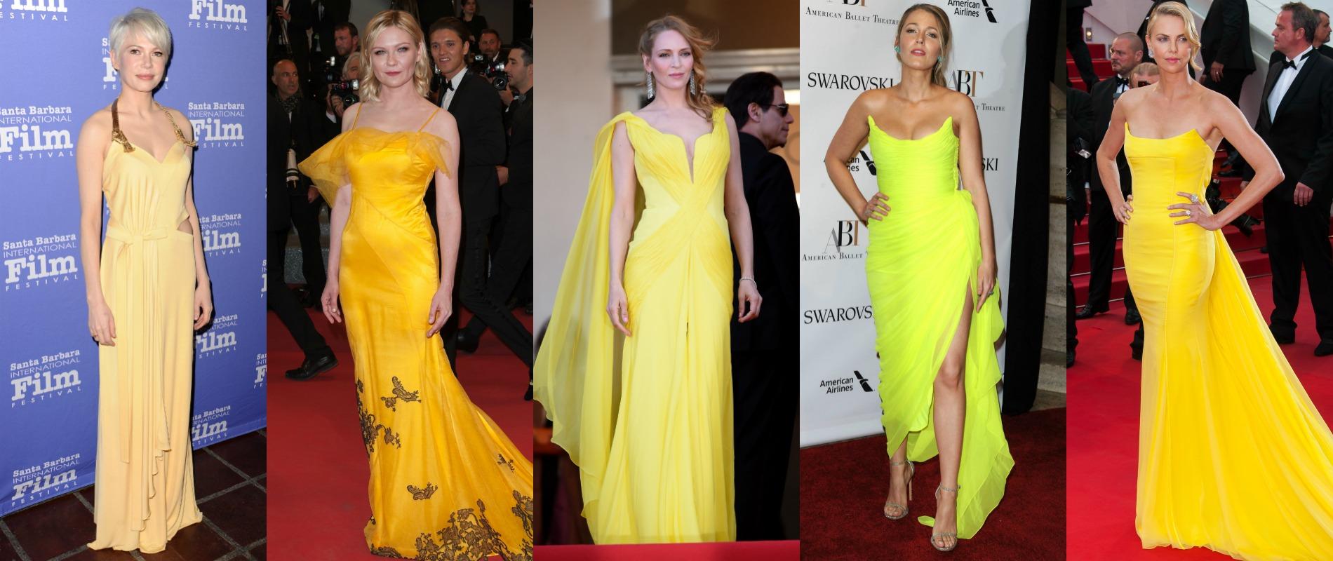 Comment oser le jaune quand on est blonde ? Madame Figaro