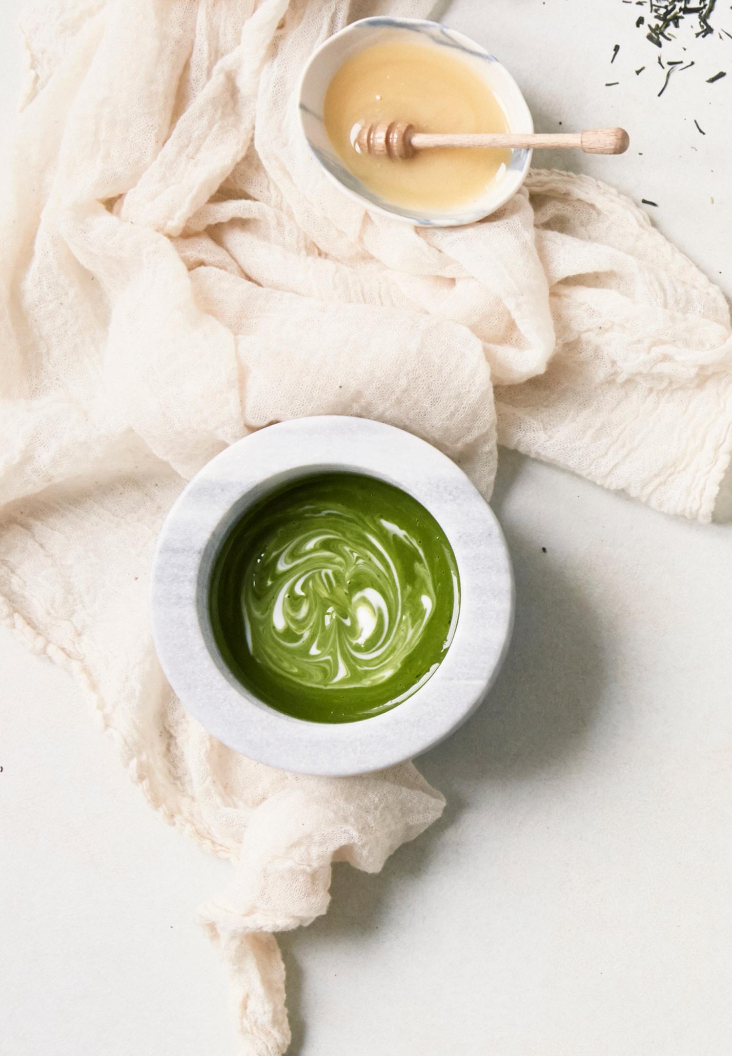 toujours populaire vente chaude réel profiter de la livraison gratuite Thé vert, miel, yaourt… Le masque fait maison qui redonne de ...