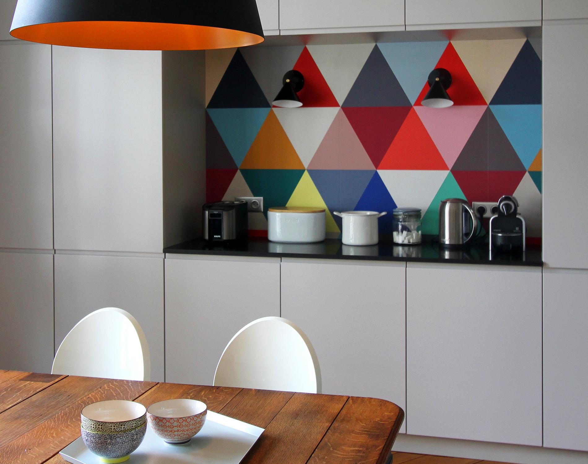 Comment Proteger Un Mur Peint faut-il oser le papier peint en cuisine ? - madame figaro