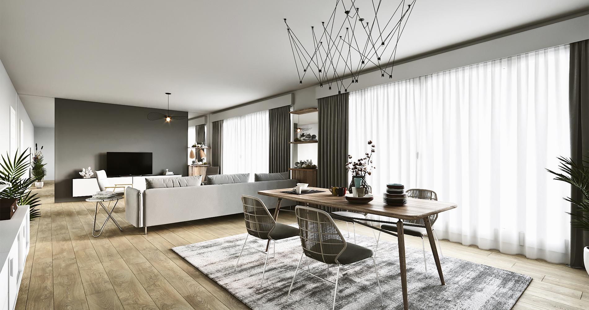 Comment Habiller Un Grand Mur De Salon comment créer deux espaces de vie dans un salon ? - madame