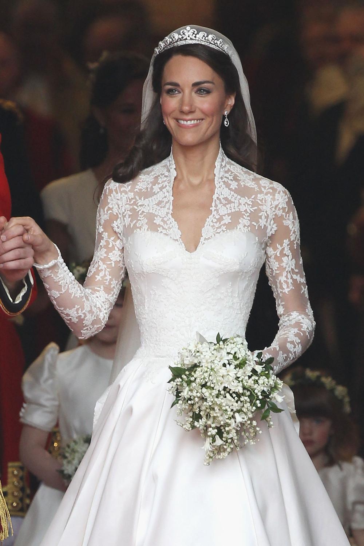 Le match des robes de mariée de Kate Middleton