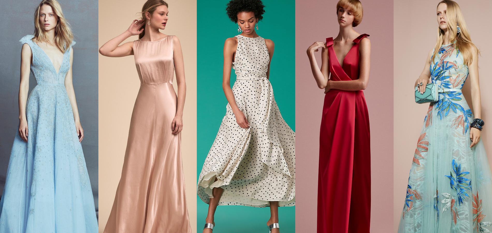 Trente robes d'invitée pour mariage très