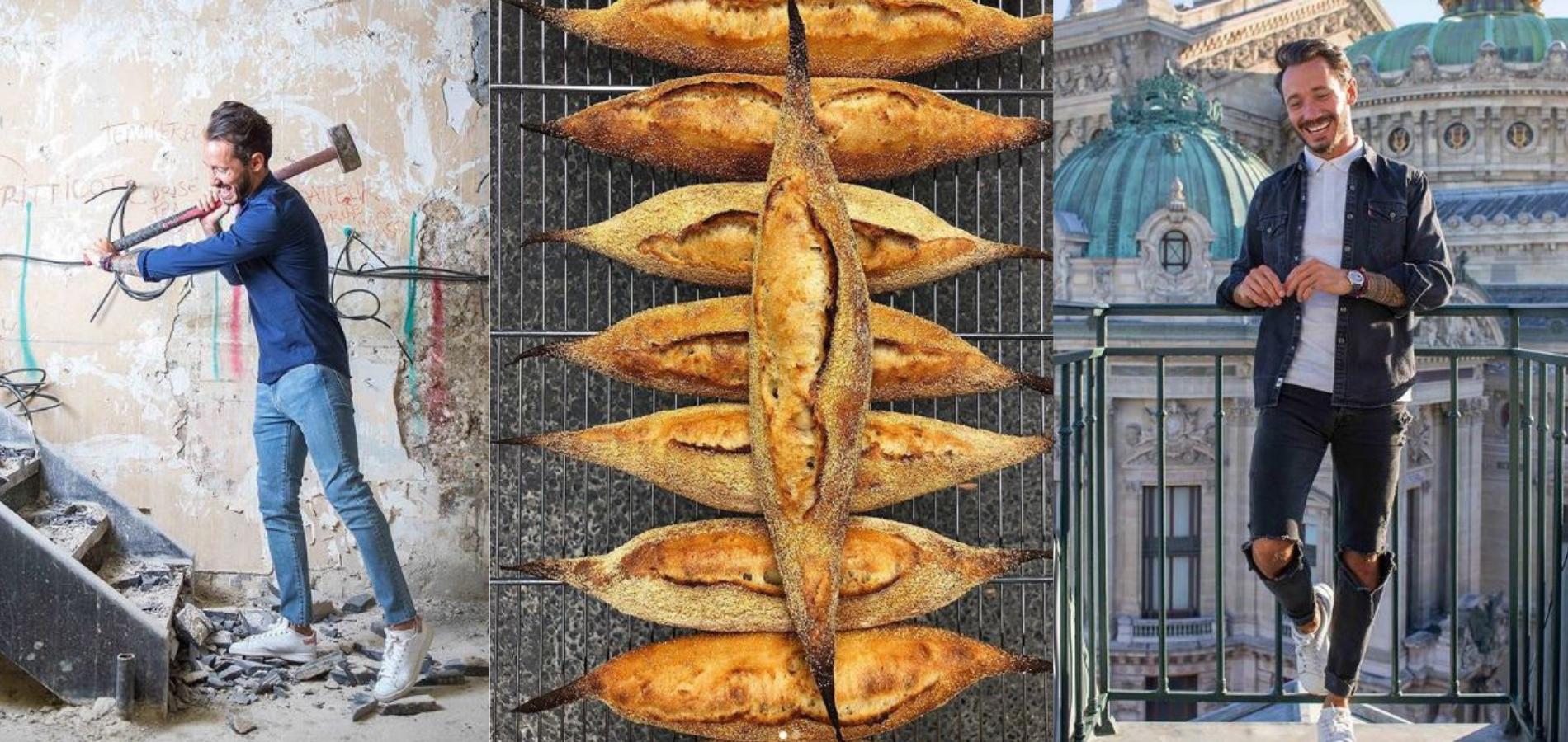 La première boulangerie,pâtisserie de Cédric Grolet vient d
