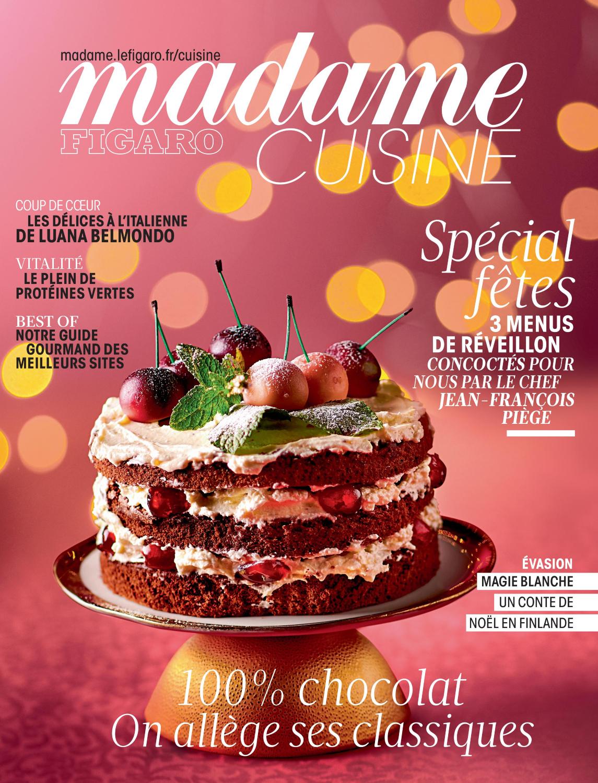 Figaro Madame Cuisine Noel