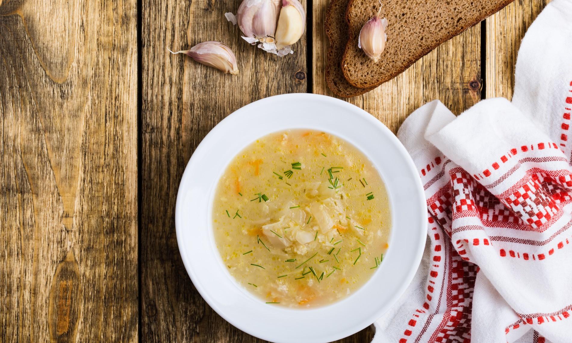 perdre du poids recette de soupe aux choux