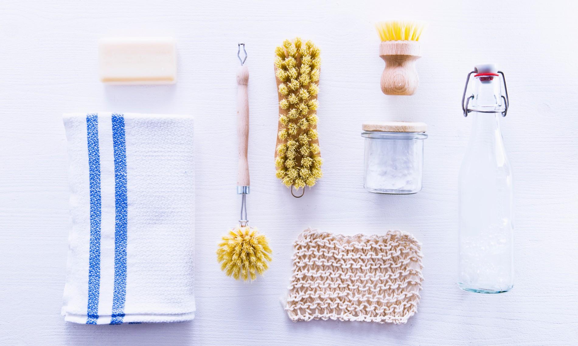 Nettoyer Le Lave Linge Au Bicarbonate trois produits d'entretien naturels pour nettoyer sans