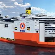 Un géant pour déplacer le Costa Concordia