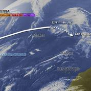 Melissa, une tempête tropicale aux portes de l'Europe