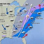 Une vague de froid record s'abat sur les Etats-Unis