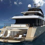 Première sortie d'un yacht de rêve à la française