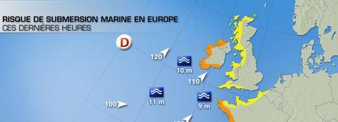 Europe: Alerte rouge aux submersions