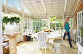 Du jardin d'hiver à la pièce à vivre: le budget de votre véranda